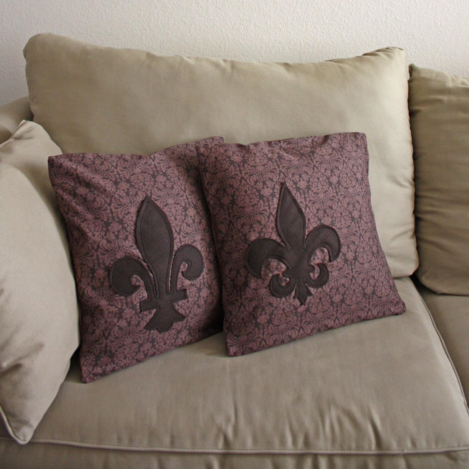 Felt Silhouette Pillows