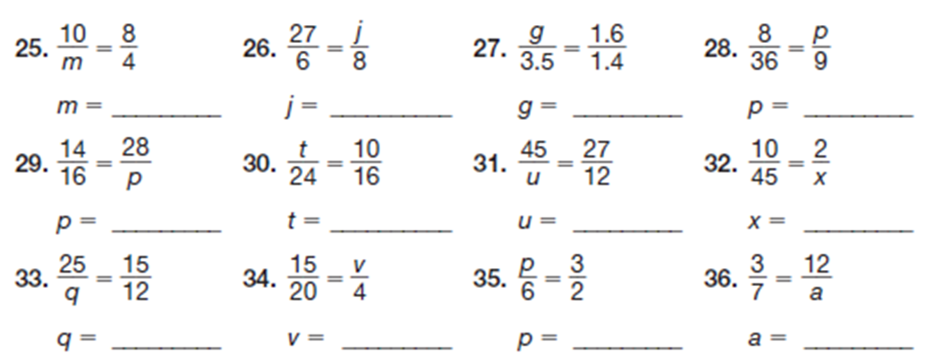 Printables Solving Proportions Worksheet miss kahrimaniss blog solving proportions homework problems is to complete all questions on the worksheet