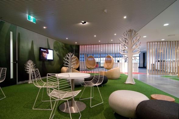 Office break room ideas on pinterest modern family rooms for Office design game