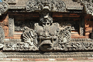Balinese Stone Face - Factc about bali indonesia