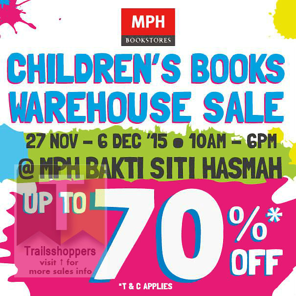 MPH Children's Books Warehouse Sale 2015
