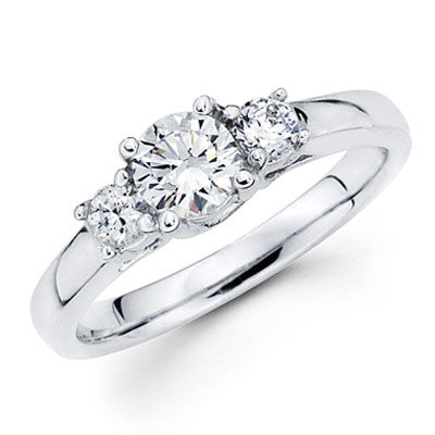 The question of whether the diamond engagement ring should be removed for