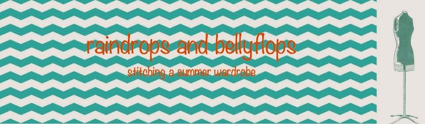 Sew&Craft-Raindrops & Bellyflops