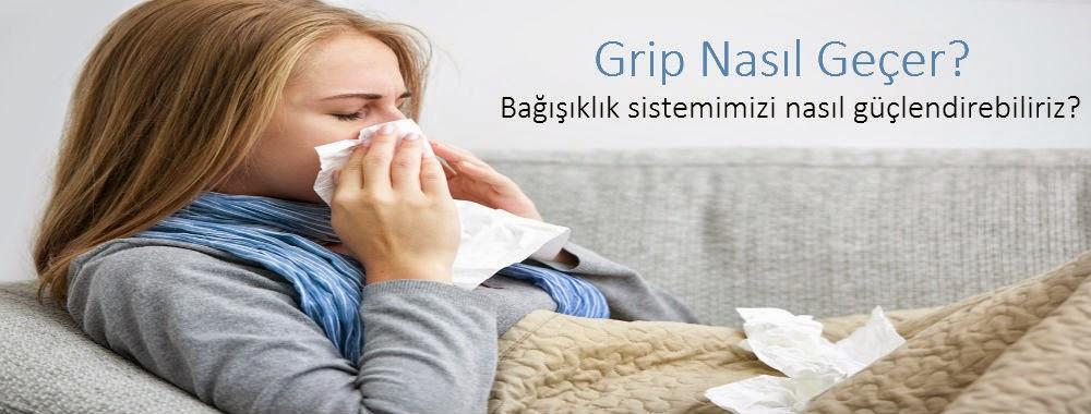 Grip nasıl gecer? Nezle soğuk algınlığı grip