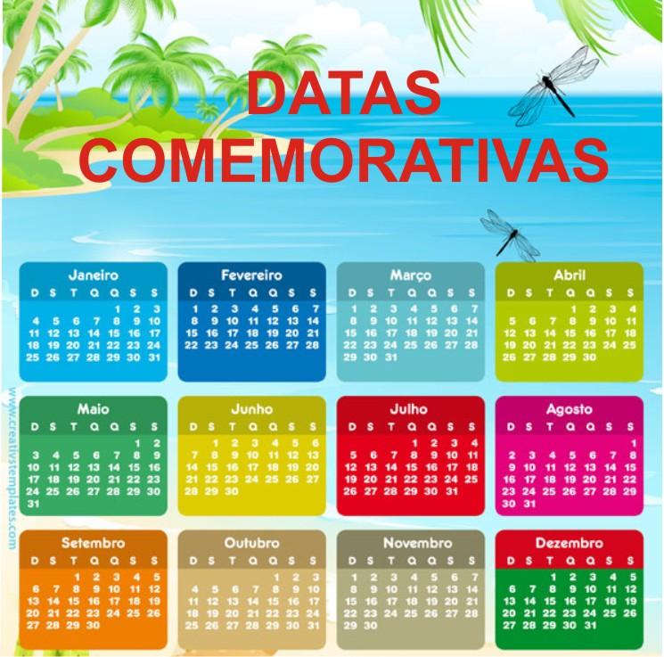 Conhecido ESPAÇO EDUCAR: Atividades para as Datas Comemorativas do ano inteiro! OR06