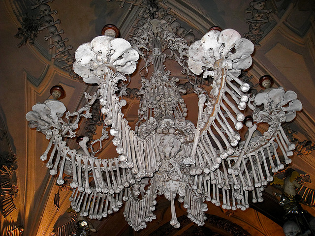 Pauls ride guide creepy places sedlec ossuary czech republic the chandelier mozeypictures Gallery