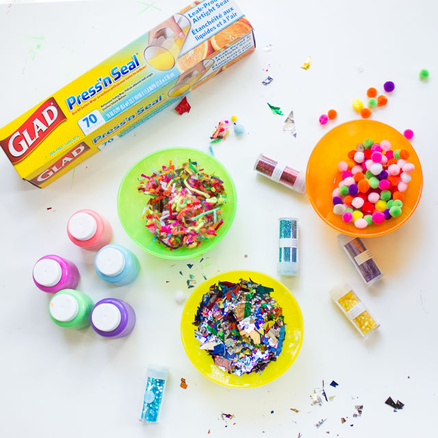 Cool Kids Craft with Glad Press'n Seal