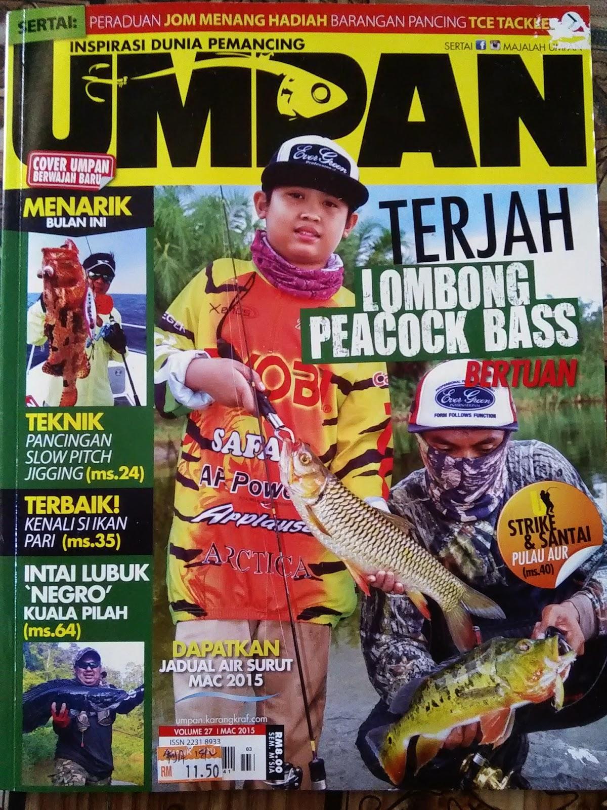 Blog Pilihan Majalah UMPAN Edisi Bulan Mac 2015