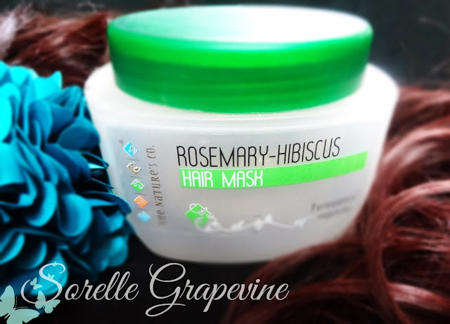The Nature's Co. Rosemary-Hibiscus Hair Pack
