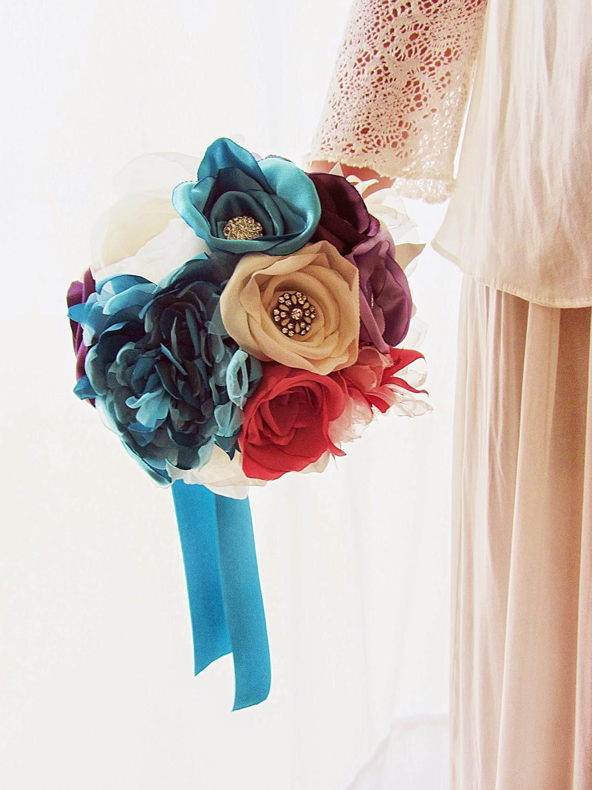 bouquet de noiva rosas