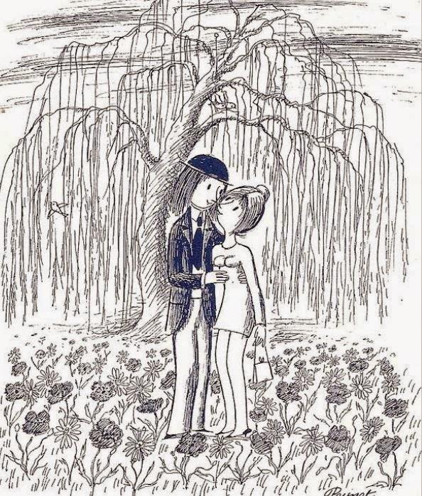 saint Valentin de Peynet.