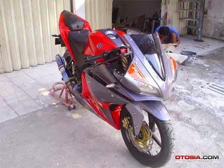 modifikasi Yamaha Vixion menjadi R125