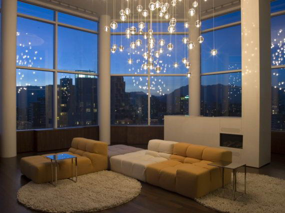Modern Living Room Lighting Decoration Ideas