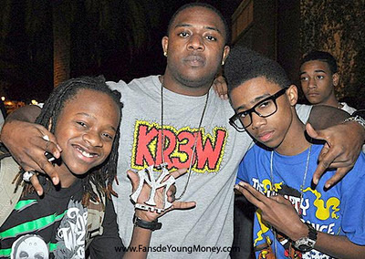 fotos raras de lil chuckee con mack maine y lil twist