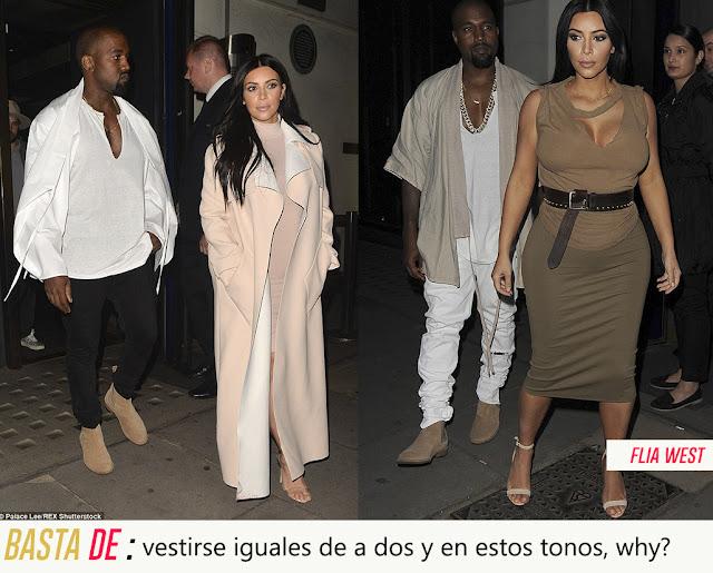 style kanye west kim kardashian