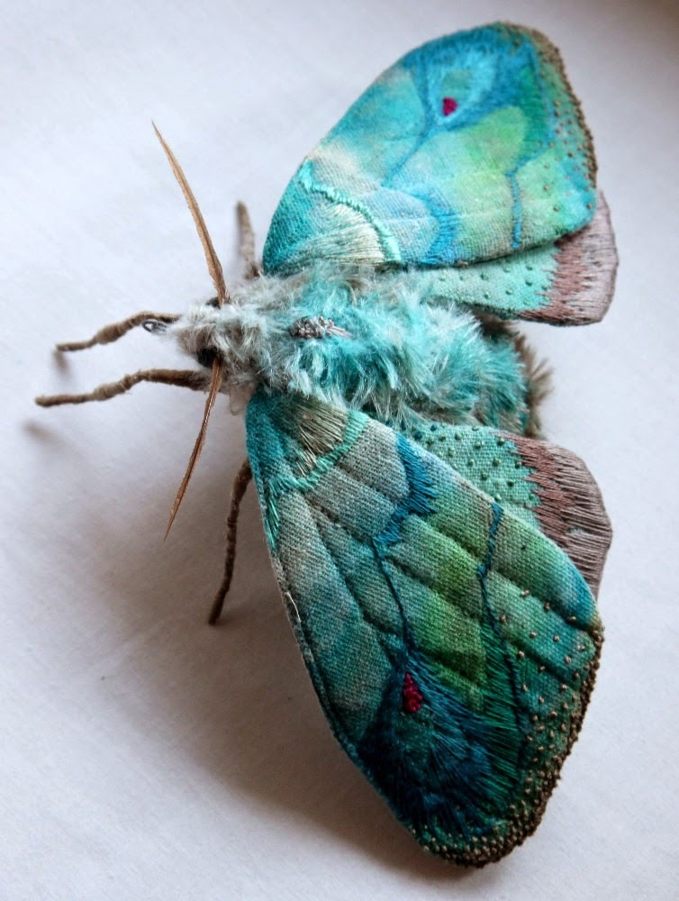 Simply Creative: Textile Insect Sculptures by Yumi Okita