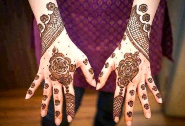 Latest Mehandi Designs for Hands