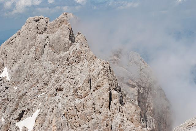 Corno Piccolo, cresta sud