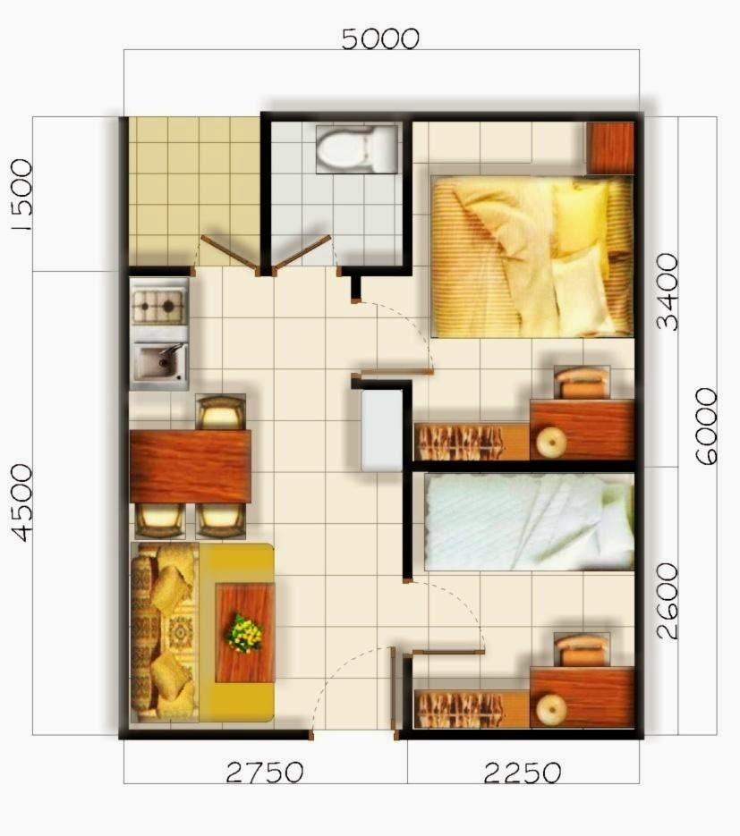 Desain Model Rumah Minimalis Type 36 Idaman | Desainer Rumah