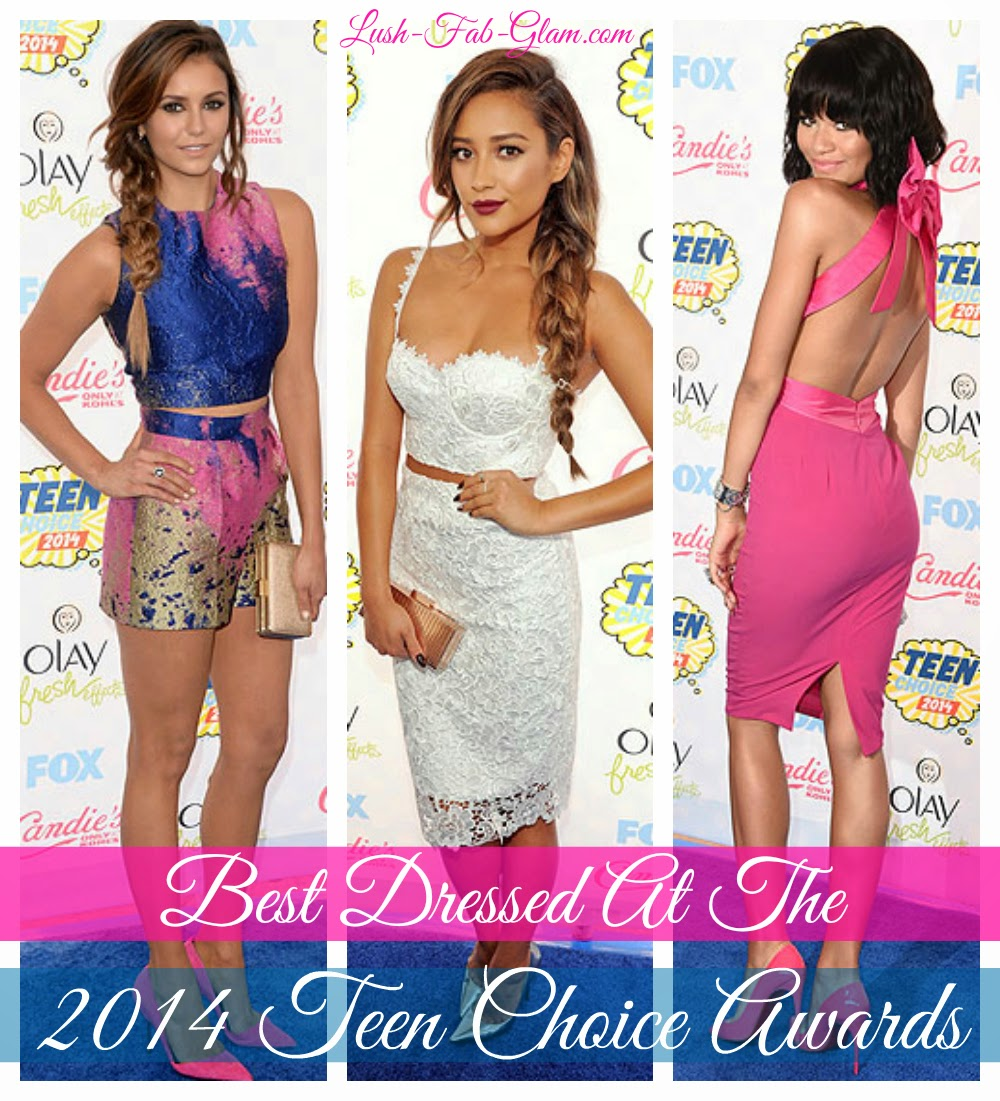 See Summer's hottest fashion trends and styles at the 2014 Teen Choice Awards.
