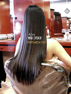 Japanese Hair Straightening Treatment Orange County