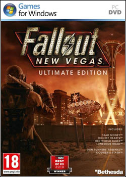 Modelo Capa Download   Fallout: New Vegas   Ultimate Edition PROPHET   PC (2012)