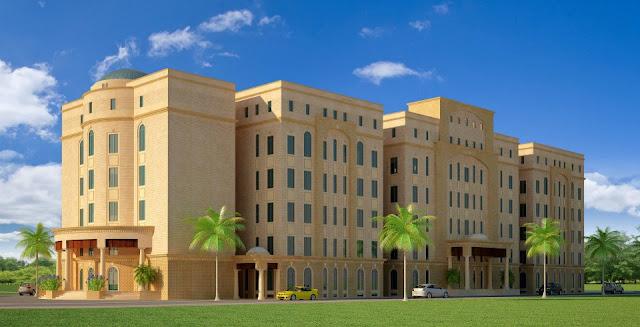 Front Elevation Hospital : D front elevation commercial hospital auditoram