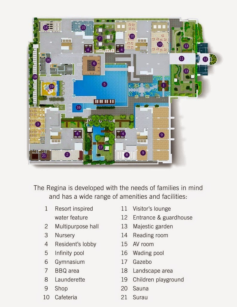 The Regina  Usj  Ryan Lean Properties - Usj 1 location map