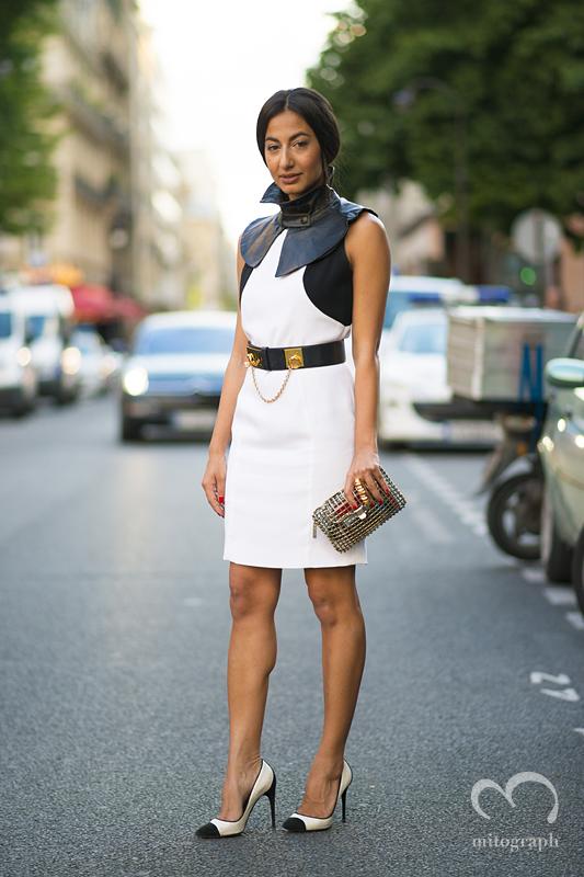mitograph Nausheen Shah Paris Mens Fashion Week 2014 Spring Summer PFW Street Style Shimpei Mito