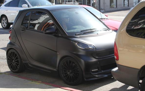 Matte Black Smart Car For Sale