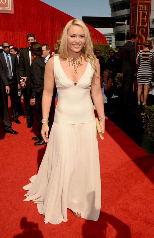 Maria Sharapova & Lindsey Vonn Shine at 2012 ESPY Awards » Gossip | Lindsey Vonn