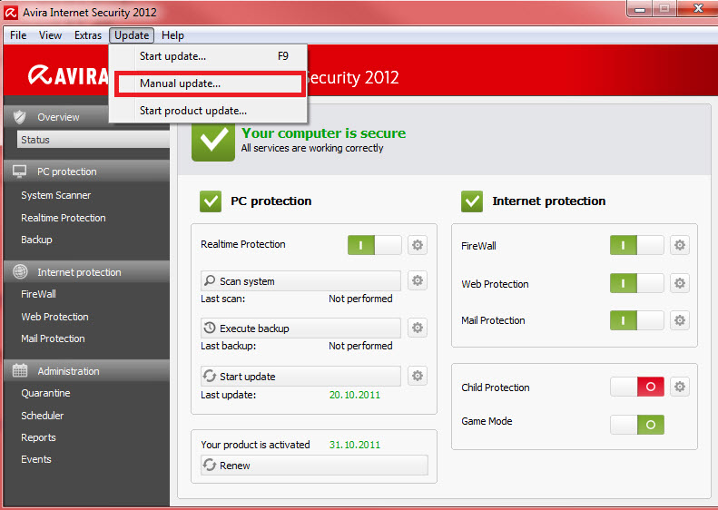 Download update avira terbaru vdf offline