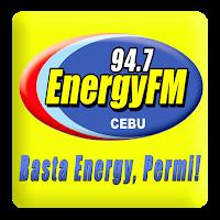 Energy FM Cebu DYKT 94.7 MHz logo