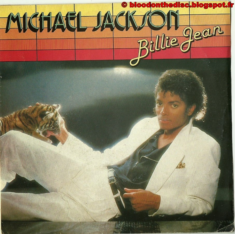 Billie Jean 45T Front Cover