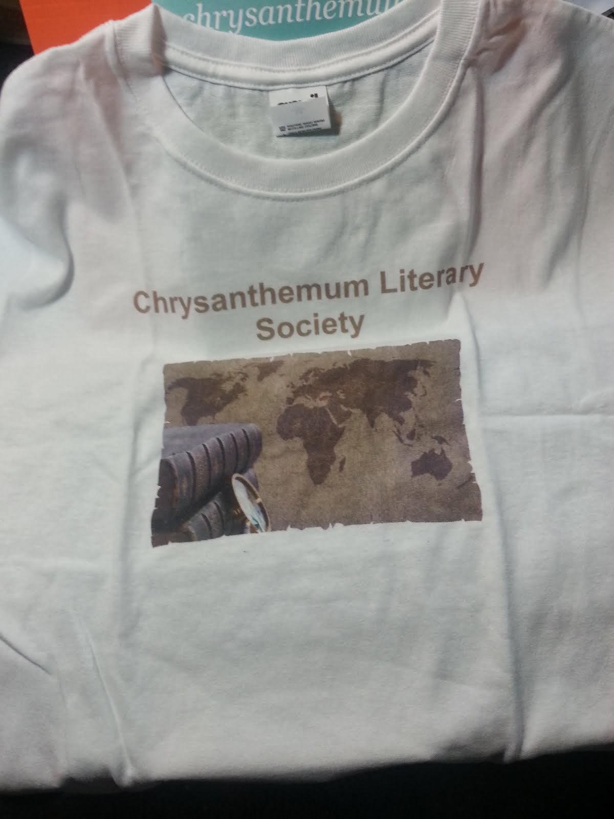 Chrysanthemum Literary Society T-shirts