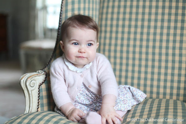 Kensington Palace on Sunday released two adorable new pictures of Princess Charlotte of Cambridge.