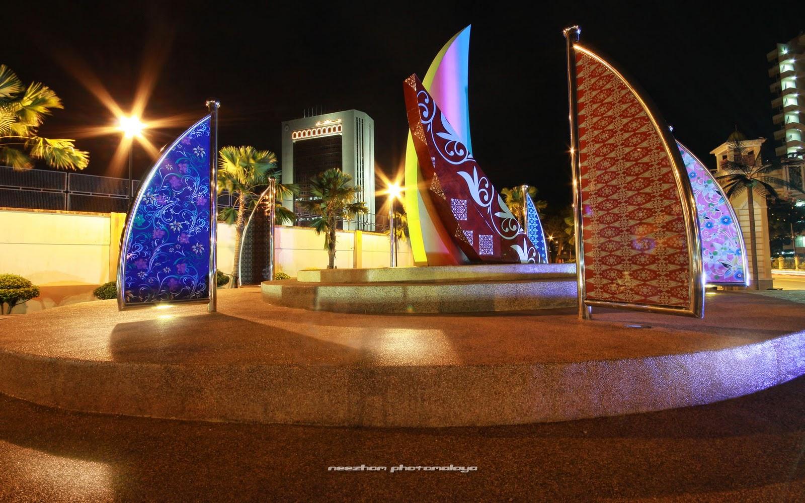 gambar Wisma Darul Iman waktu malam