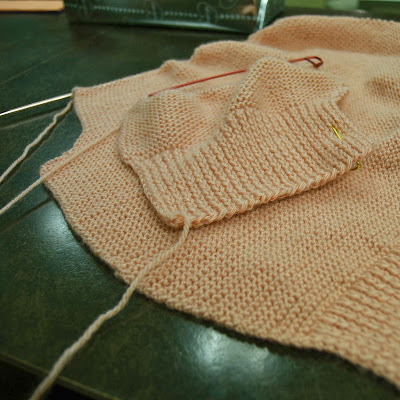 Flashback Summer: Just Love It- Knit for Victory/ knitting update