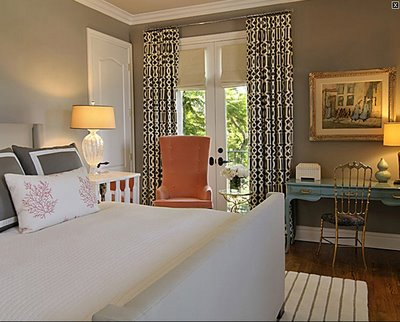 Liv Luv Design Color Palette Gray And Orange Bedrooms