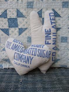 sugar sack hearts