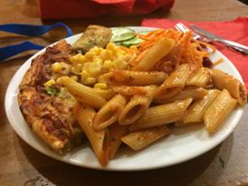 All you can eat Pizza and pasta at LEGOLAND Windsor