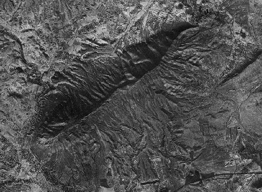 Sierra Fontcalent intacta en 1956