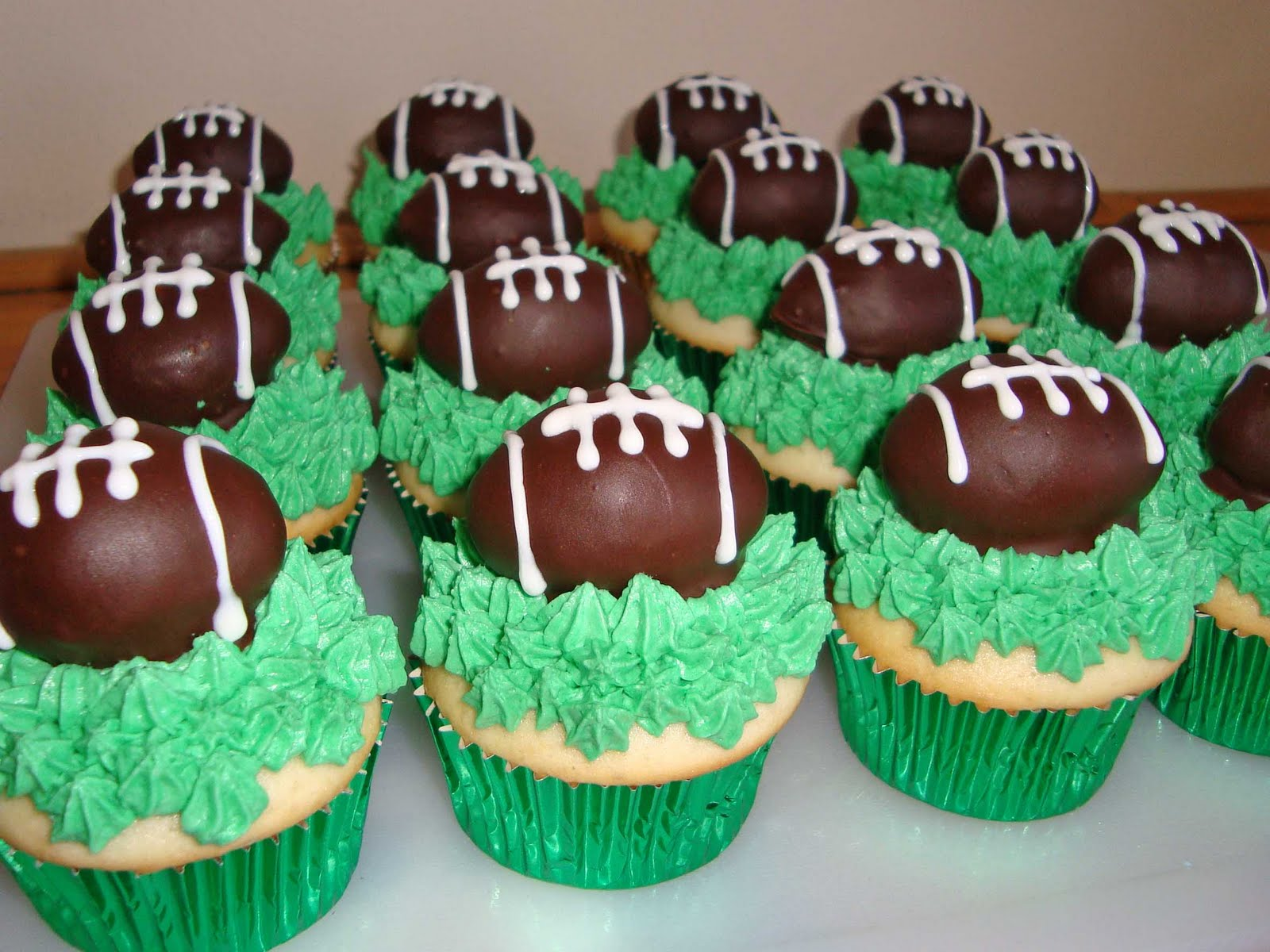Superbowl Cake Toppers
