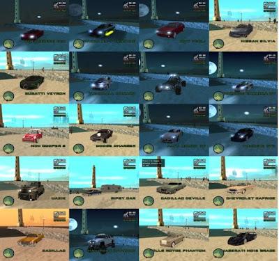 Большой мод Smakkie Mod v2 для GTA San Andreas.