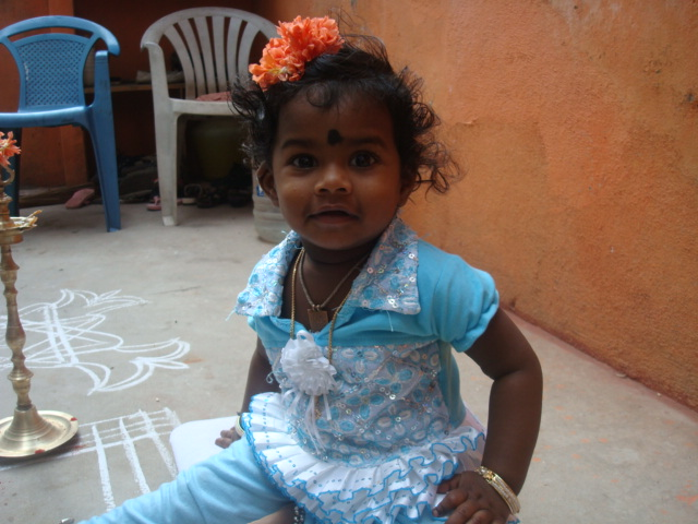 My Friend Udaya's Daughter Kanishka