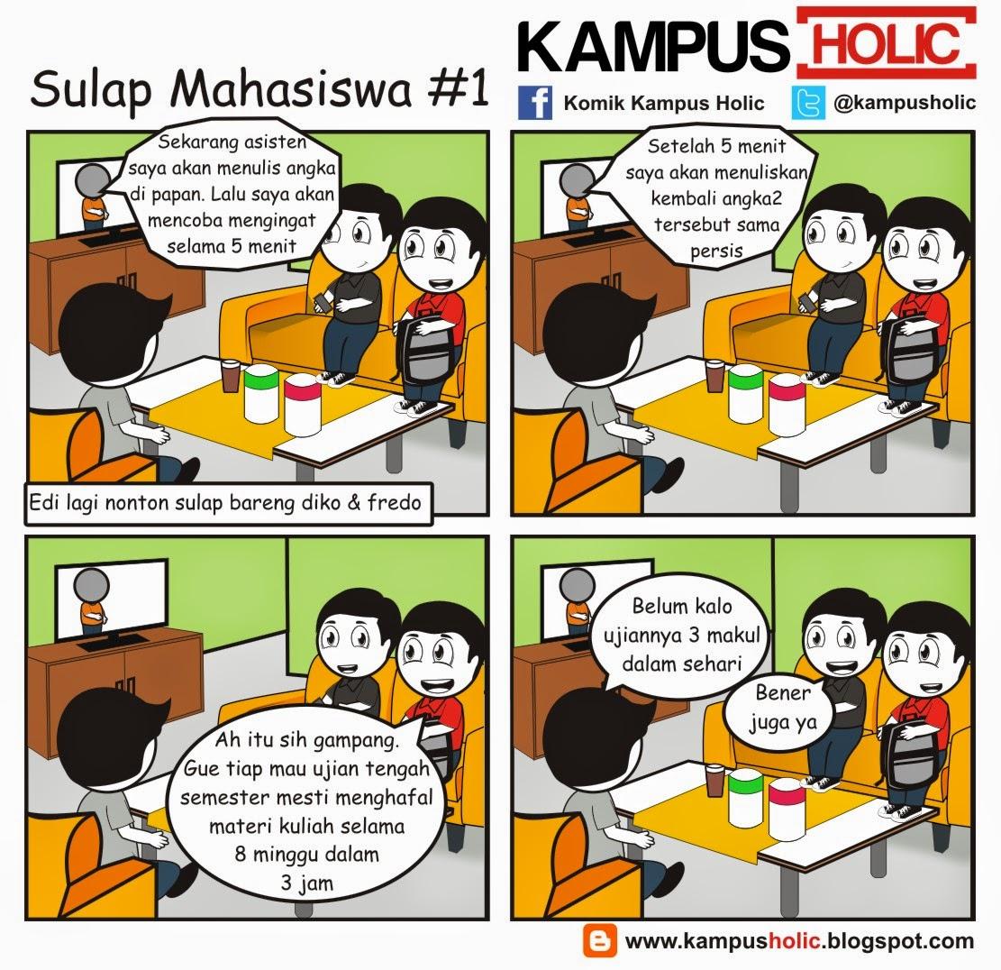 #879 Sulap Mahasiswa #1