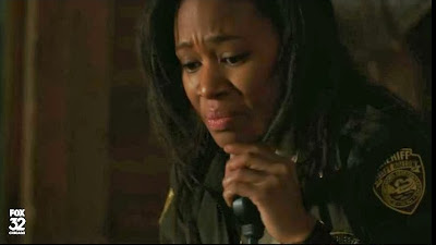 Lieutenant Abbie Mills crying Sleepy Hollow Nicole Beharie