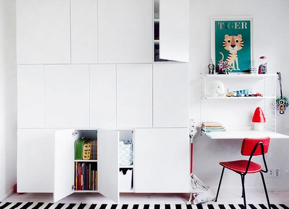 Ikea Grundtal Double Towel Rail ~ Dicas de canto de estudo, pra quem tem pouco espaço  dcoracao com