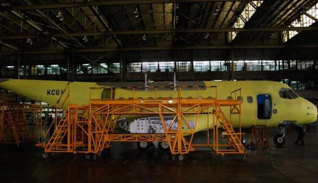 Pembuatan Pesawat CN-235 PT Dirgantara Indonesia