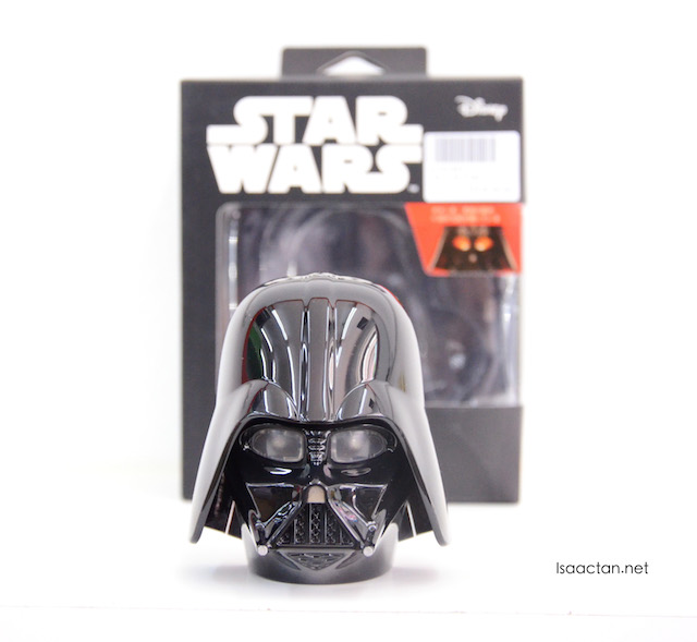 I got this for myself, Star Wars Darth Vader Powerbank for RM68